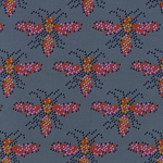 Mustang 0004-002 I Heart Bees by Melody Miller for Cotton + Steel