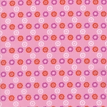 Mustang 0007-001 Pink Daisies by Melody Miller for Cotton + Steel