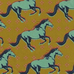 Mustang 0008-022 Gallop Cotton/Linen Canvas by Cotton + Steel