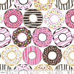 Lolly 101.122.01.2 White Doughnut Love by Maude Asbury for Blend