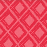 Simply Color 10806-14 Spicy Hot Pink Ikat Diamonds by V & Co for Moda