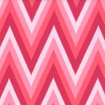 Color Me Happy 10828-12 Pink Ikat Chevron by V & Co for Moda