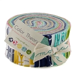 Color Theory Jelly Roll by V & Co for Moda