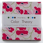 Color Theory Charm Pack by V & Co for Moda