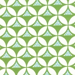 Color Theory 10831-13 Lime Geo Mod by V & Co for Moda