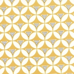 Color Theory 10831-16 Mustard Geo Mod by V & Co for Moda