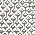 Color Theory 10831-17 Grey Geo Mod by V & Co for Moda