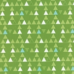 Color Theory 10832-13 Lime Triangles by V & Co for Moda