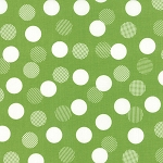 Color Theory 10833-13 Lime Dots by V & Co for Moda