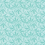 Color Theory 10834-14 Teal Twigs by V & Co for Moda