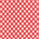 "Vintage Picnic 108"" Backing 11111-11 Red Check by Moda"