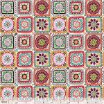 Riding Hood 114.109.05.2 White Granny Squares by Blend