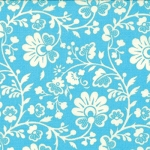 Gypsy Girl 11466-13 Blue Sky Chinoiserie for Moda
