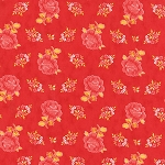 Fancy 11491-17 Winterberry Red Hailey by Lily Ashbury for Moda