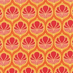 Fancy 11492-19 Orange Spice Coco by Lily Ashbury for Moda