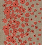 Winter's Lane 13091-15 Grey Poinsettias by Kate & Birdie for Moda