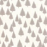 Winterberry 13143-11 Snow/Stone Forest by Kate & Birdie for Moda