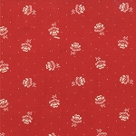 Midwinter Reds 14753-21 Red Flower by Moda