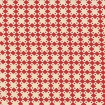 Midwinter Reds 14765-21 Cream Red Geometric by Moda