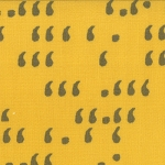 Comma 1514-16 Mustard Slate Commas by Zen Chic for Moda