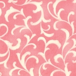 Coquette 16065-18 Pink Scroll by Chez Moi for Moda EOB w/flaw