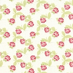 Ambleside 18601-11 Linen White Lacy Daisy Rose by Moda