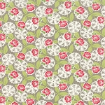 Ambleside 18601-17 Cobblestone Lacy Daisy Rose by Moda