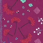 Mochi 1910-2 Purple Mochi Floral by Cotton + Steel