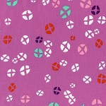 Mochi 1914-2 Dark Plum Hot Cross Buns by Cotton + Steel