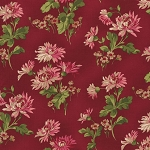 Incarnadine 1993-002 Red Lg Floral by Robyn Pandolph for RJR