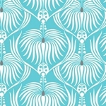 Design Studio Collection 2140501-1 Blue Dahlia by Camelot