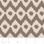 Cove 2141405-2 Sand & Grey Ikat by Camelot Fabrics