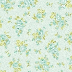 Romance 2281-26 Seafoam Heirloom by E. Vive for Benartex