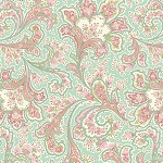 Romance 2283-26 Seafoam Malabar by E. Vive for Benartex