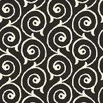 Sew Scary 23863-J Black Swirl by Quilting Treasures