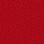 A Christmas Story 23915-R Red Holly Tonal by Quilting Treasures