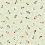 Attic Treasures 24087 Green Floral Sprig by Red Rooster