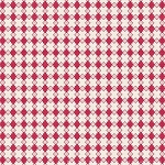 With All My Heart 24804 Red Houndstooth by Red Rooster