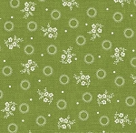 With All My Heart 24805 Green Floral Sprig by Red Rooster