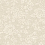 With All My Heart 24809 Lt Beige Damask by Red Rooster