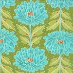 Chantilly 25070-11 Field Wallflowers by Moda