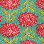 Chantilly 25070-27 Brook Wallflowers by Moda