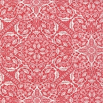 Chantilly 25072-19 Poppy Bohemian Lace by Moda