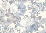 Gatsby's Flora 25158 Lt Blue Large Floral by Red Rooster Studios
