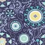 Sunnyside 27161-16 Twilight Celestial by Kate Spain for Moda