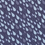 Sunnyside 27167-16 Twilight Cloud Burst by Kate Spain for Moda