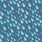 Sunnyside 27167-17 Shade Cloud Burst by Kate Spain for Moda