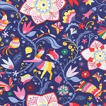 Daydream 27170-14 Ink Arcadia by Kate Spain for Moda