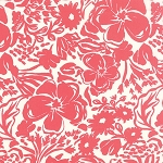 Paradiso 27200-31 Coral Pink Rhapsody by Kate Spain for Moda