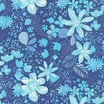 Paradiso 37201-12 Lagoon Blue Bonaire by Kate Spain for Moda